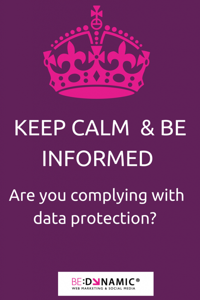 Keep Calm - Are they complying with data protection?