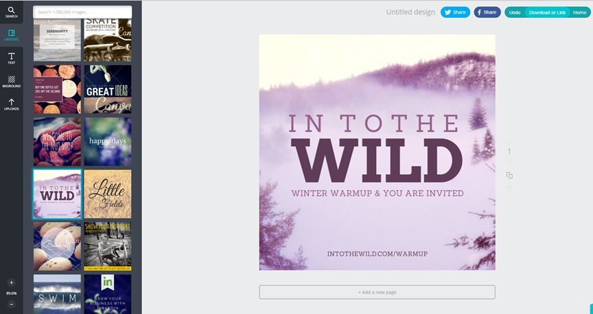 Canva to create amazing Pinterest graphics