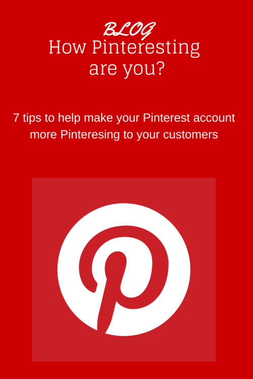 using Pinterest effectively